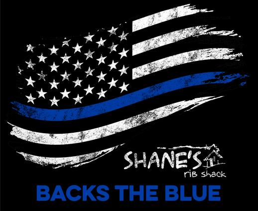 Shane's Rib Shack Backs the Blue