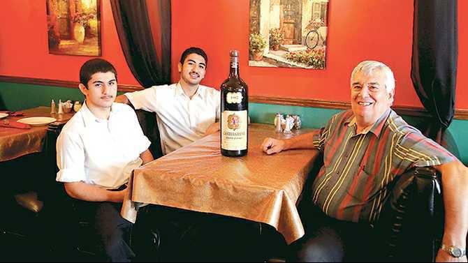 Chianti-restaurant-closing---employees-Ozan-Gunidi-and-Erman-Gunidi-and-owner-Domenico-Pelliccia-IMG 0561