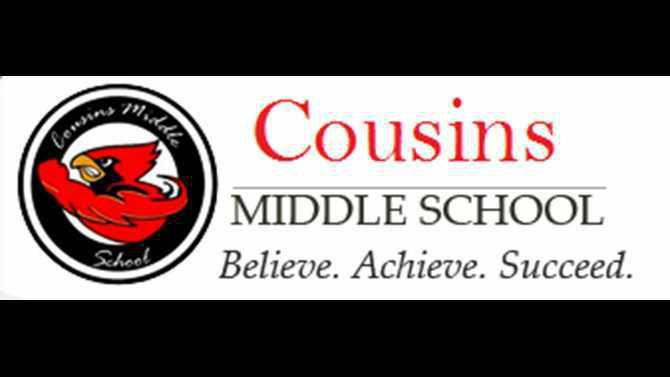 Cousins Middle School in Newton County logo