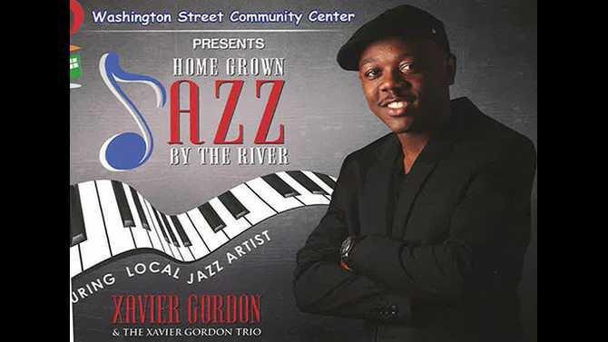 Jazz by the River Xavier Gordon 6-12-15