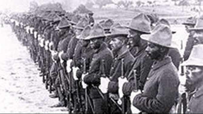 baffalo soldiers at san juan hillwEb