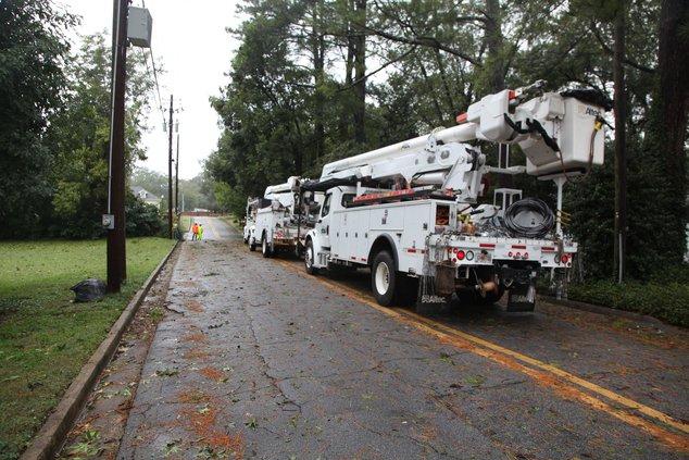 Hurricane Irma - Covington Lineman