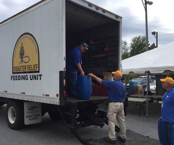Hurricane Irma - Feeding Unit