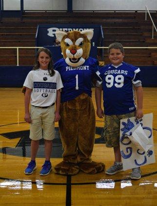 Piedmont Academy Mascot