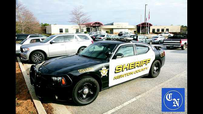 Newton County Sheriff Car---WEB