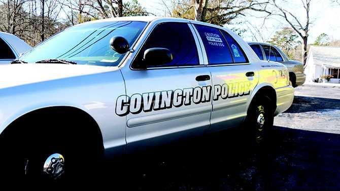 covington police car web