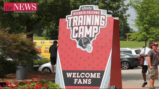203 0801 Falcons Training Camp - Day 1 by Anthony Banks Rockdale News