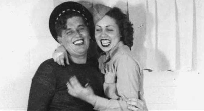 A-young-couple-in-love---Bud-and-Dorothy-Turner