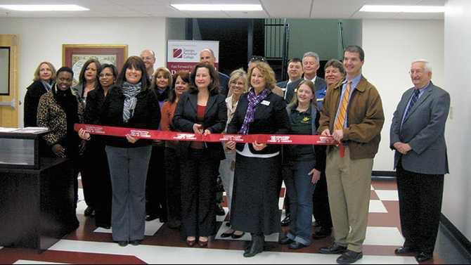 Peachtree Academy covington campus ribbon cutting 3-26-13 IIMG 0271