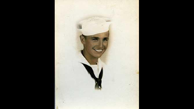 Veterans Story - John Slavik young sailor Q 1014