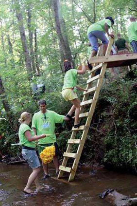 Duck-Race-Ladder