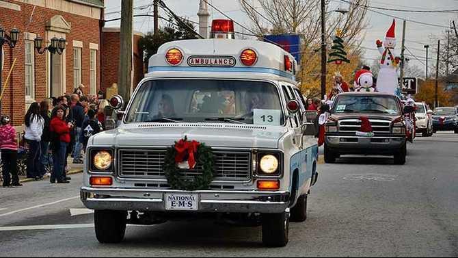 CP15 2012 parade National EMS