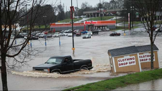 flooding ross