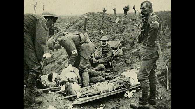 WW1-medic