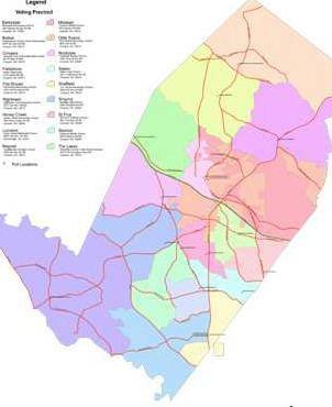 Rockdale voting precincts