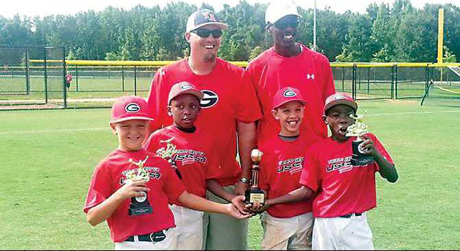 4-locals-in-8u-Team-GA-won-Southeast-Champs-in-USSSA---Landon-Taylor-Colton-Hood-coach-Brent-Moore-coach-Sherman-Johnson-Mason-Moore-Sherman-Johnson-J