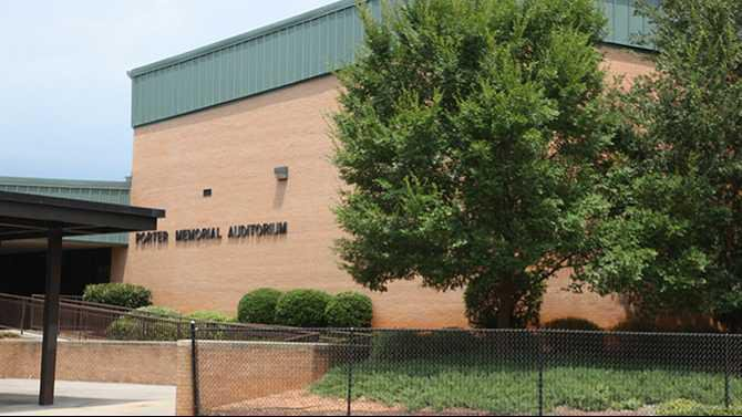 Porter Memorial Auditorium File photo Covington News