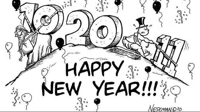 editorial-cartoon new-years
