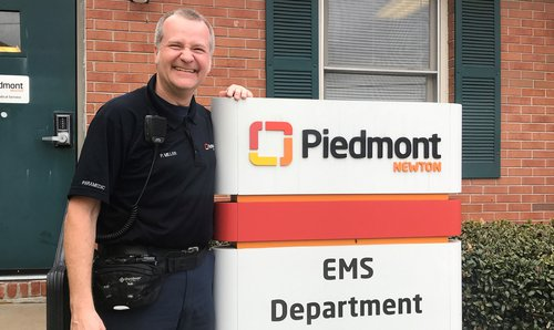 Piedmont Newton EMS paramedic