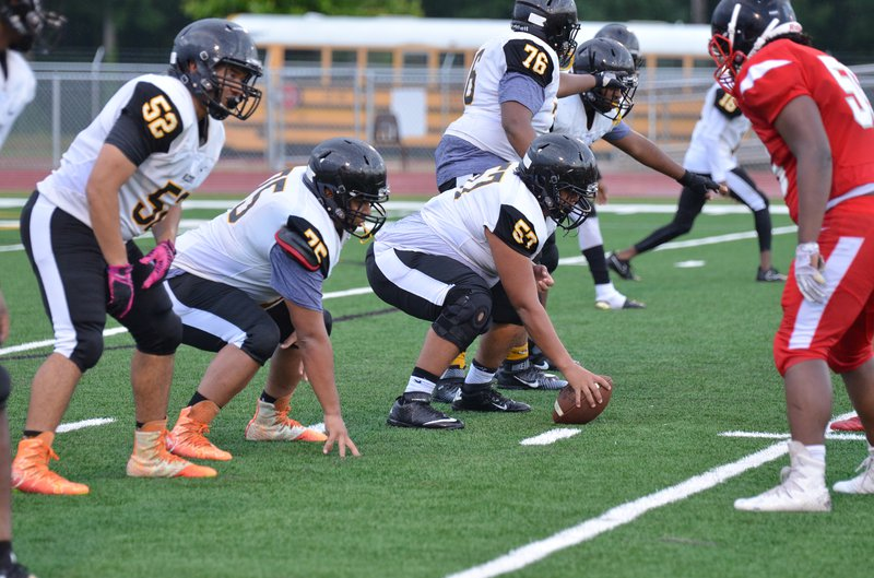 Alcovy Offensive line