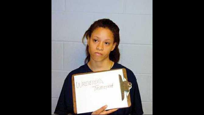 Tasmiyah Whitehead arrest mug