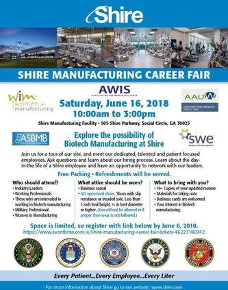 Shire Career Fair