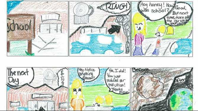 Clean-Air-Campaign-art-contest-middle-school-winner-DMS-sixth-grader-Raegan-Owen---cartoon