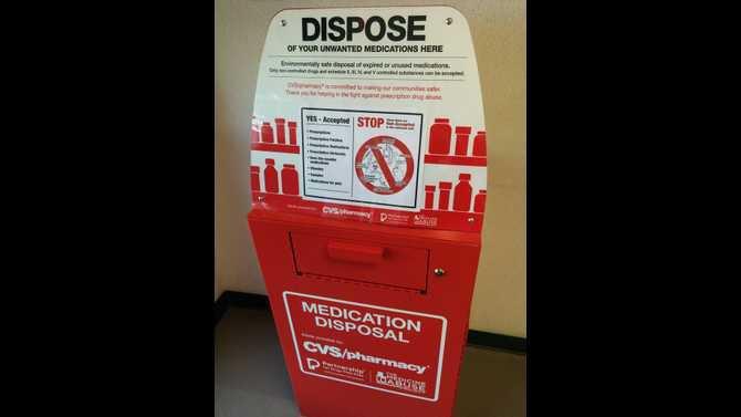 CPD Medication Disposal Box