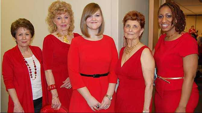 Red Hot Healthy 2013 A-bevy-of-beauties-in-showstopping-red-looks-from-Belk