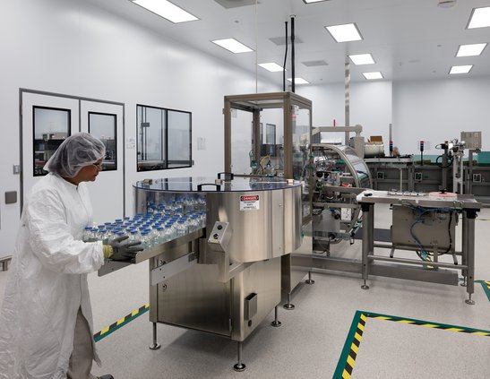 Shire Packaging Room