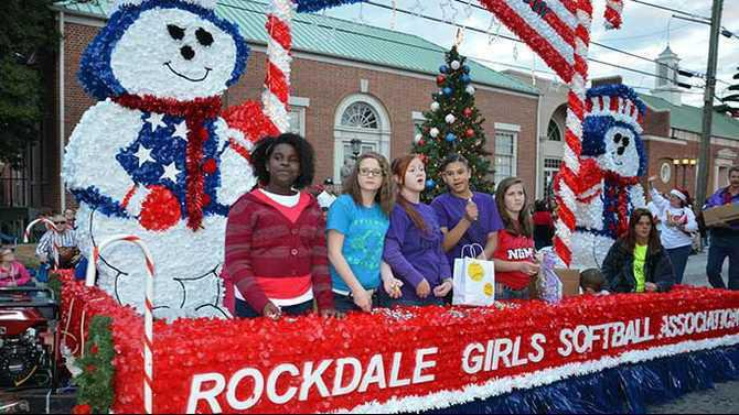 Hometown Holidays RGSA float 2012 CP25