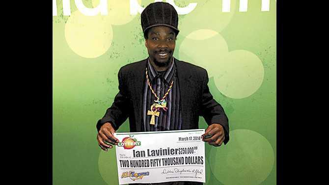 Ian-Lavinier-lotto-winner