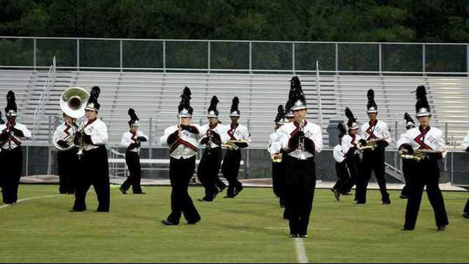 RCHS-band-on-field-IMG 9019