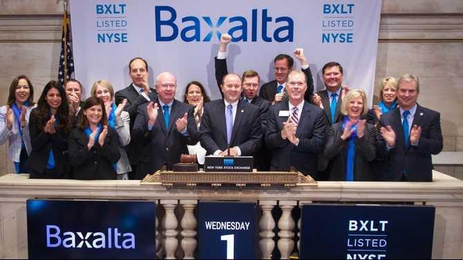 Baxalta Bell-Ringing 7-2-15