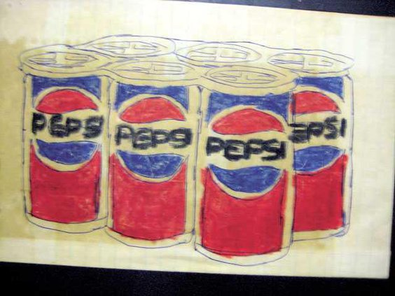 Bobby King pepsi cans