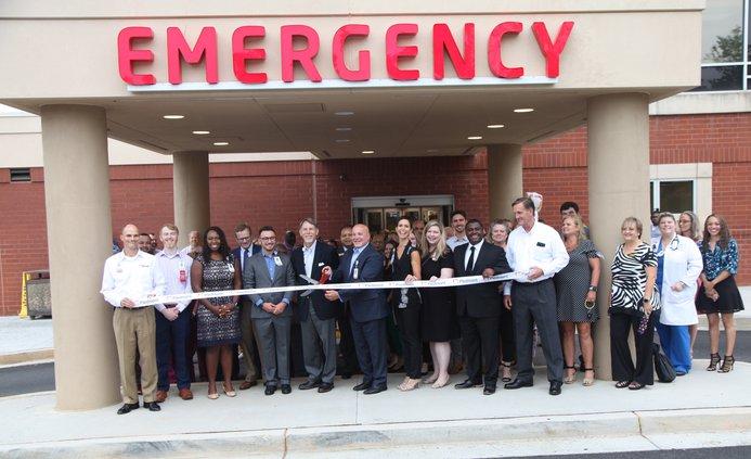 Piedmont ER expansion