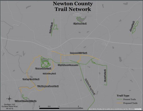 Newton Trails