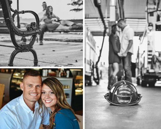 Cushing photo collage