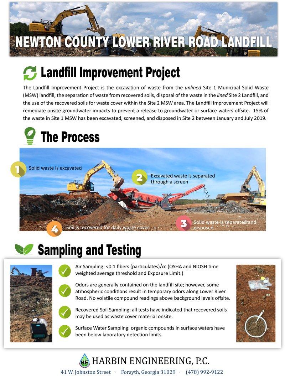 Newton Waste Excavation Update Handout
