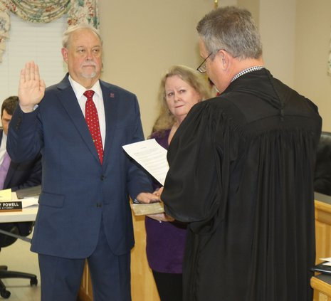 David Keener Takes Oath