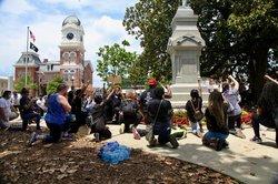 Covington Peaceful Protest 1