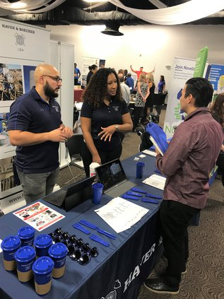 photo from the 2019 Regional Job Fair held at the GPTC Newton County Campus conference center on Oct. 4
