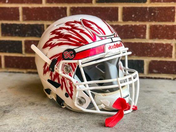 Social Circle Football Helmet