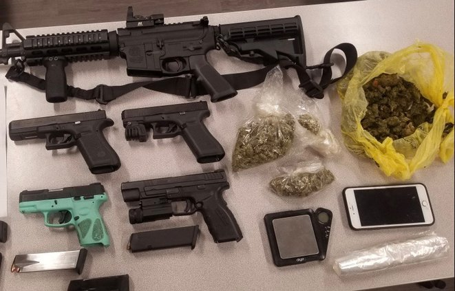 items confiscated at Magnolia Heights Circle residence