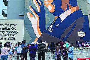 Lewis mural