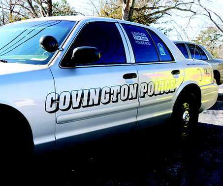 covington police car web