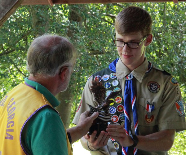 Scott Evritt earns Eagle Scout