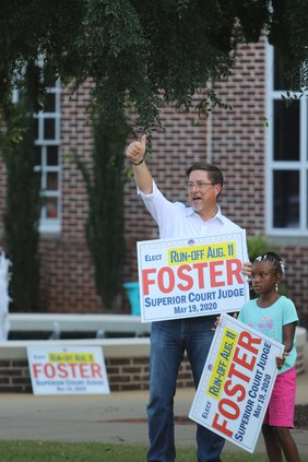 Foster campaigns