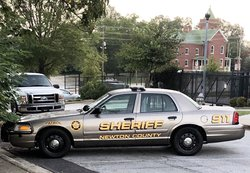 Newton County Sheriff's Office patrol car