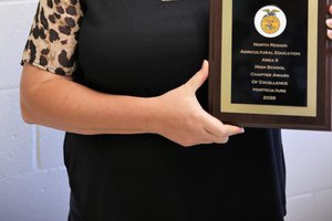Eastside FFA Advisor Catrina Pollard